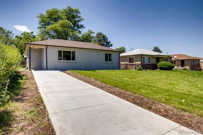 Denver Single Family Home Active: 3625 Kearney Street