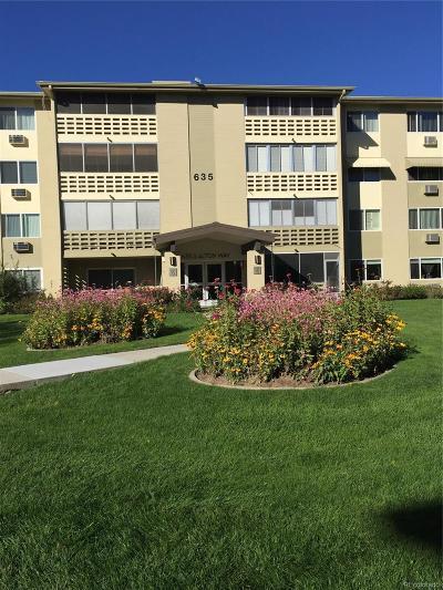 Denver Condo/Townhouse Active: 635 South Alton Way #5C