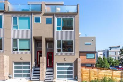 Denver Condo/Townhouse Active: 1505 West 36th Avenue
