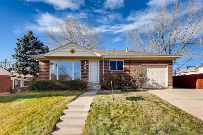 Northglenn Single Family Home Active: 10675 Clarkson Court