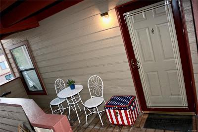 Denver Condo/Townhouse Under Contract: 8761 Dawson Street #203