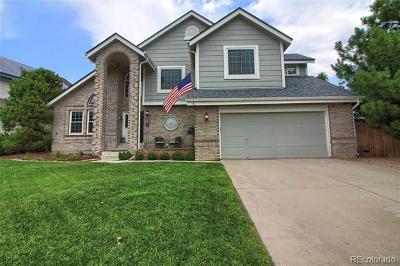 Highlands Ranch Single Family Home Active: 1391 Beacon Hill Drive