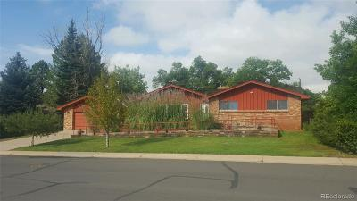 Broomfield Single Family Home Active: 1133 Eagle Road