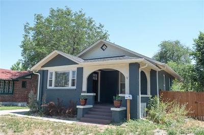 Englewood Single Family Home Active: 2762 South Logan Street