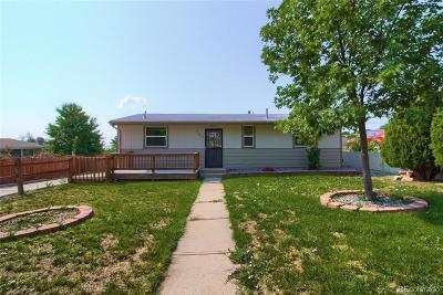 Adams County Single Family Home Active: 380 Del Norte Street