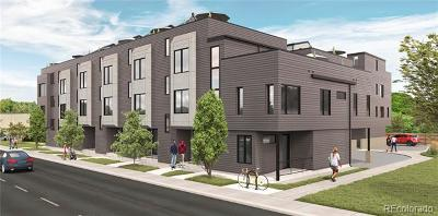 Denver Condo/Townhouse Active: 1460 Wolff Street #106