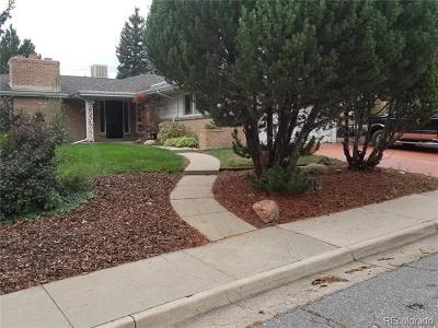 Denver Single Family Home Active: 2721 South Eaton Way