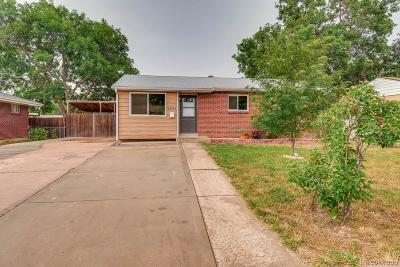 Westminster Single Family Home Under Contract: 7290 Winona Court
