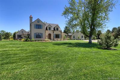 Cherry Hills Village CO Single Family Home Active: $2,595,000