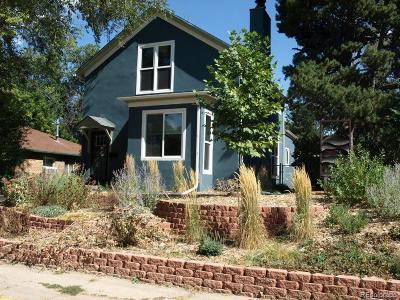 Denver Single Family Home Active: 2518 Irving Street