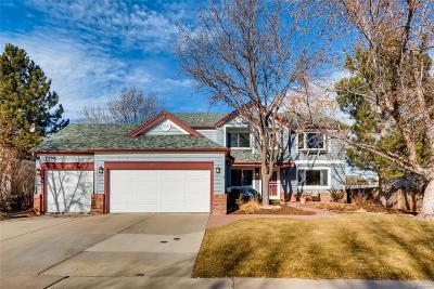 Littleton Single Family Home Active: 8233 West Otero Avenue