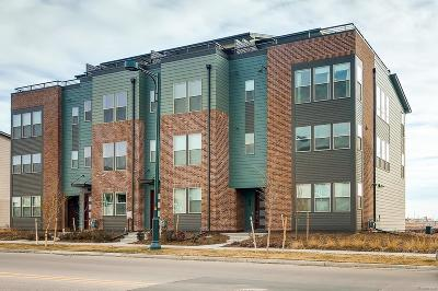Stapleton Condo/Townhouse Active: 8952 East 47th Place