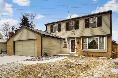 Centennial Single Family Home Under Contract: 7357 South Ivy Way