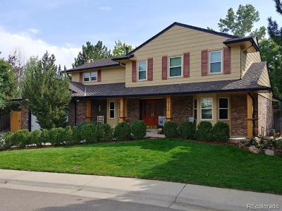 Centennial Single Family Home Active: 2752 East Irwin Place