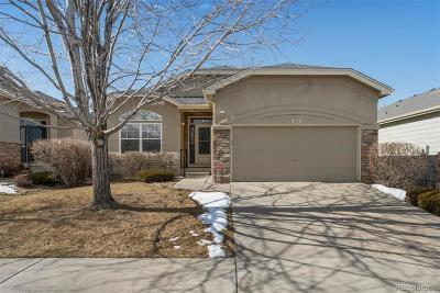 Longmont CO Single Family Home Active: $499,000