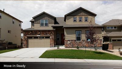 Castle Rock Single Family Home Active: 435 Sage Grouse Circle