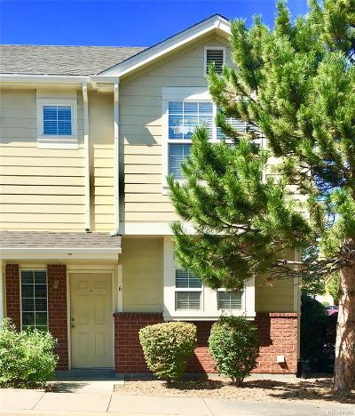 Thornton Condo/Townhouse Under Contract: 9138 Gale Boulevard #6