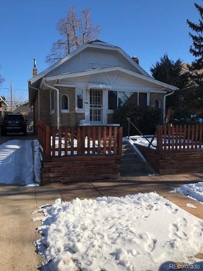 Denver Single Family Home Active: 556 South Sherman Street