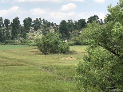 Elbert CO Residential Lots & Land Active: $198,000