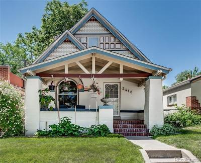 Single Family Home Under Contract: 3410 West 31st Avenue
