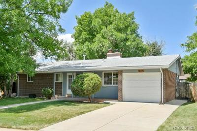 Arvada Single Family Home Active: 6113 Lewis Court