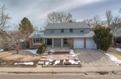 Denver Single Family Home Sold: 7692 East Bates Drive