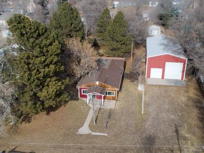 Elbert County Single Family Home Under Contract: 339 Navajo Street