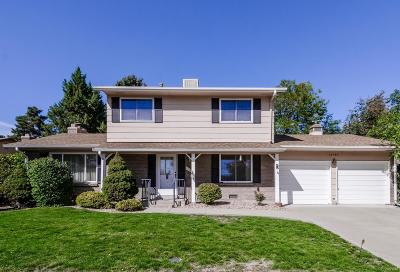 Littleton Single Family Home Under Contract: 10709 West Saratoga Place