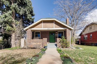 Denver Single Family Home Active: 2894 Dexter Street