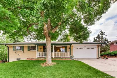 Lakewood CO Single Family Home Active: $449,900