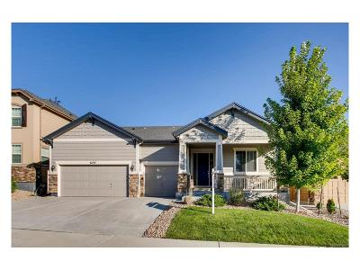 Castle Rock Single Family Home Under Contract: 6297 Blue Water Circle