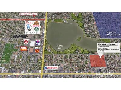 Jefferson County Residential Lots & Land Active: 5443 West 25th Avenue