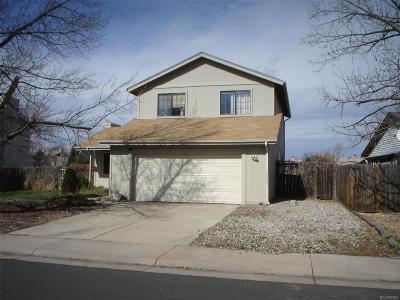 Aurora Single Family Home Active: 4091 South Nucla Way