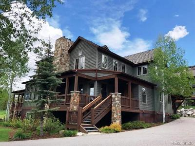 Steamboat Springs Condo/Townhouse Active: 1329 Turning Leaf Court