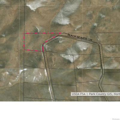 Park County Residential Lots & Land Active: 439 Black Beaver Circle