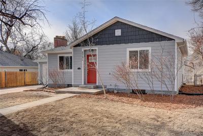 Denver Single Family Home Active: 2751 South Monroe Street