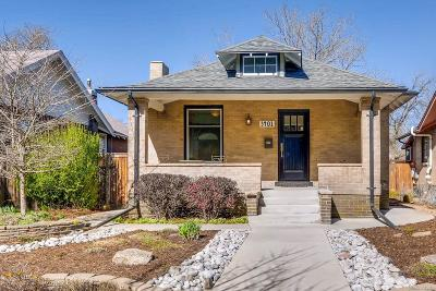 Denver Single Family Home Active: 3401 Quitman Street