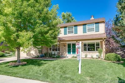 Centennial Single Family Home Active: 7146 South Hudson Circle