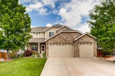 Castle Rock Single Family Home Under Contract: 1737 Peridot Court