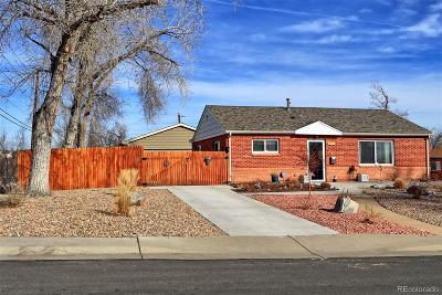 Thornton Single Family Home Under Contract: 941 East 89th Avenue