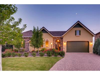 Lone Tree CO Single Family Home Under Contract: $1,049,000