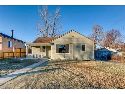 Denver Single Family Home Under Contract: 2323 West 47th Avenue