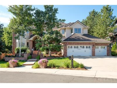 Englewood Single Family Home Under Contract: 10316 East Crestridge Lane