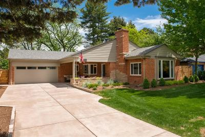 Denver Single Family Home Under Contract: 180 Ivanhoe Street