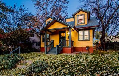 Denver Single Family Home Active: 4384 Xavier Street