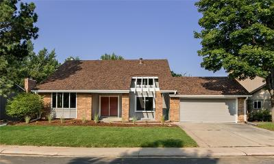 Centennial Single Family Home Active: 8644 East Mineral Circle
