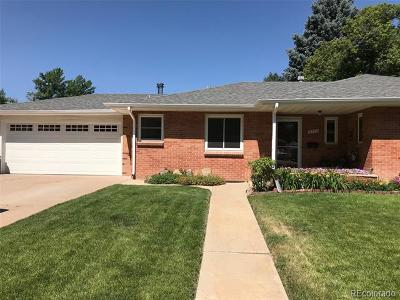 Littleton Single Family Home Active: 6575 South Elmwood Street