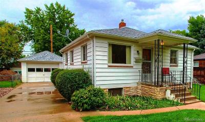 Englewood CO Single Family Home Active: $349,900