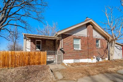 Denver Single Family Home Active: 3102 North Columbine Street