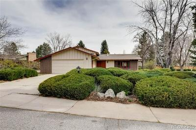 Boulder Single Family Home Active: 7460 Old Mill Trail